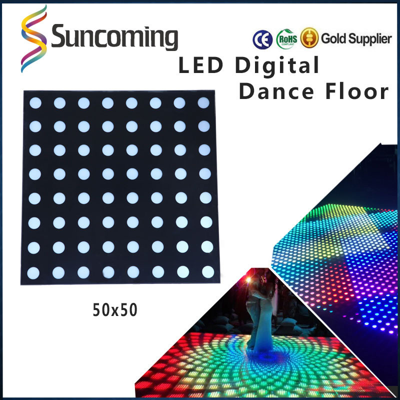 Stage Decor Digital Portable Led Modular Dance Floor in Wholesale Price