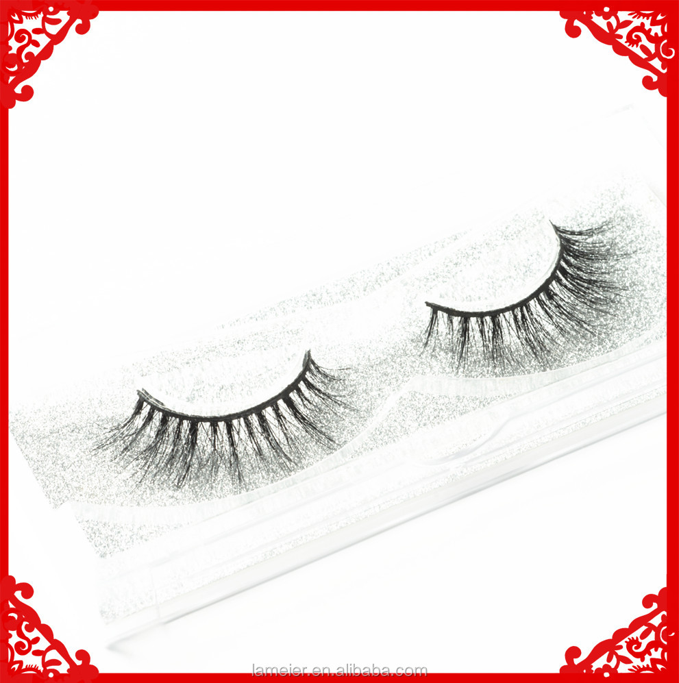 human hair eyelashes/free eyelashes samples/3D Mink Eyelashes eyelashes extension professional
