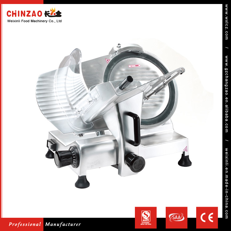 CHINZAO China Import Products Kitchen Equipment 615*525*500mm Size Semi-Auto Frozen Meat Slicer