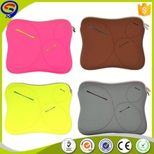 Newest excellent quality airproof neoprene flower laptop sleeve