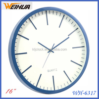 New item 16 inch wall clock with cheaper price
