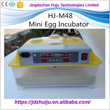 Automatic mini family use 48 chicken egg incubator/hatcher