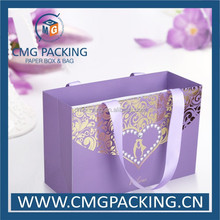 High end and luxury gift paper bag