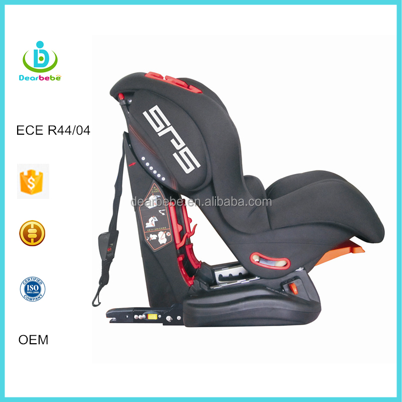 ECE R44 04 Ningbo Dearbebe OEM Wholesale Group 1+2 Isofix + Top Tether Safety Baby Car Seat