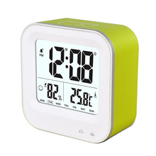 battery operated calendar clock with temperature indicator for promotion gifts