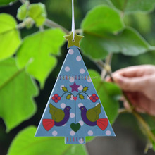 Nice design scented paper hanging car air freshener