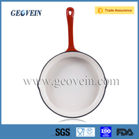 Enamel cast iron cookware sets fry pan french onion soup pan