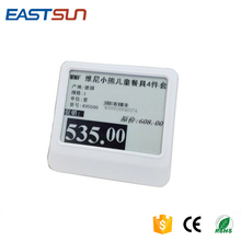 Epaper E-ink Shelf Label Electronic Shelf Labels For Supermarkets