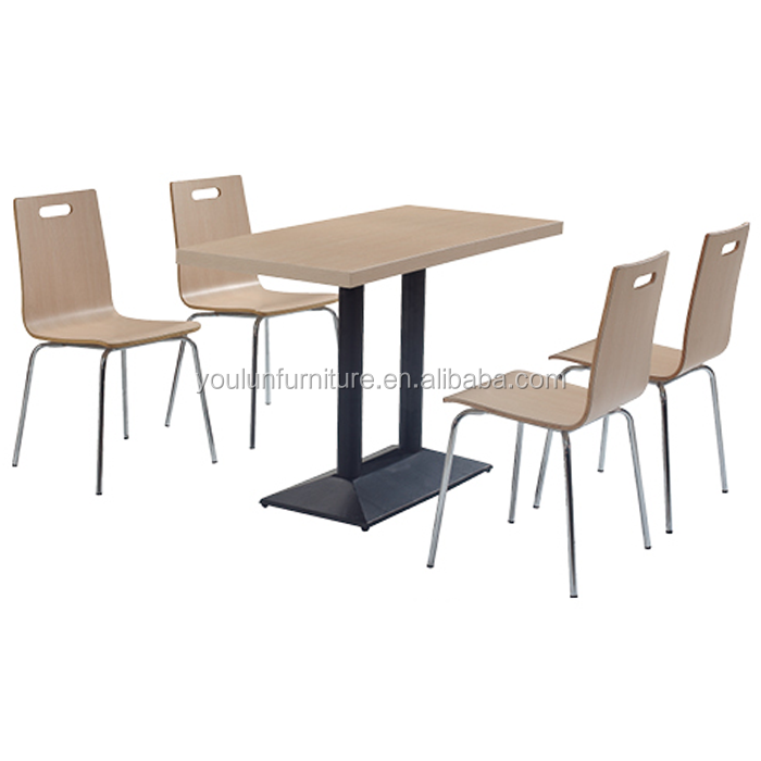 Tables Chairs For Restaurants With Iron Base