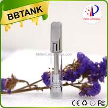 Ceramic wickless cartridge Flat Tip Custom Logo 510 thread tank vape pen