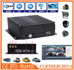 experienced manufacturer 3g gsm gps mobile dvr for vehicle/truck