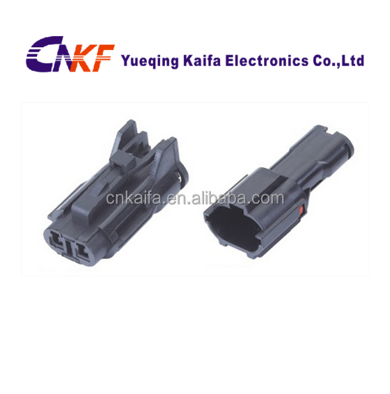 KET SWP 2 Pin black auto male and female waterproof electrical Connector MG640322/MG610320