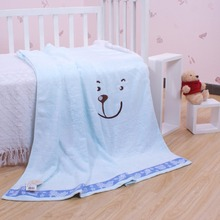 Best Sellers environmental protection bear korean baby blanket