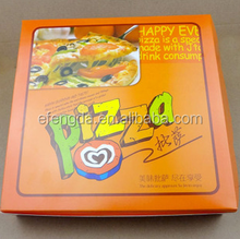 FSC Weifang Factory Custom Recycled Carton Pizza Box
