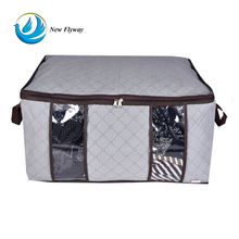 new design nonwoven large zippered jumbo vacume storage bags