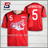 Professional custom soccer jersey , heat transfer printing football shirt, cheap soccer uniforms from china