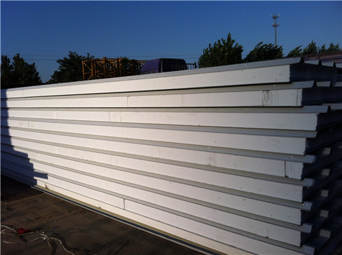 water proof and sound proof eps sandwich panel for building prefabricated houses
