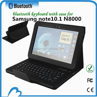 PU Leather USB Port laptop arabic keyboard for samsung note10.1 N8000