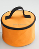cylinder polyester cooler bag lunch bag food bag with long shouder