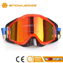 High quality mx goggles helmet design motorcycle eyewear