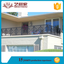 Europ Standard used wrought iron grill design for veranda/outdoor used balcony railing designs/wrought iron porch railings