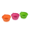 Amazon hot selling New Products Non-toxic Silicone Travel Collapsible Bowl Dog Water