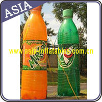 2015 Hot Selling Inflatable Soda Water Bottles for Advertisement
