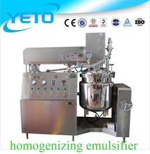 China supplier 500L electric heating vacuum homogenizing emulsifier for chemical paint
