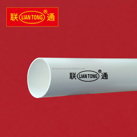 Liantong white colour ppr and pvc pipes and fittings, ppr plastic tubes manufacturer