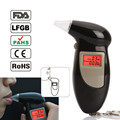 2017 New Design Digital Display Breath Alcohol Tester, Keychain Breathalyzer with Red Backlight