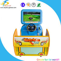 Newest game machine racing game machine alibaba express