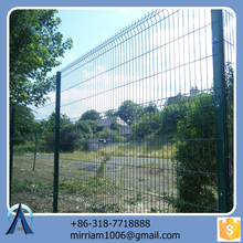 Made in China hot sale Hot dip plastic coated wire fencing / 3d antique wire fencing / welded plastic coated wire fencing