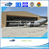 painting or hot galvanized light steel structure building prefabricated aircraft hangar for construction