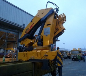 SQ6.3ZK2Q Knuckle Boom 6.3 ton Hydraulic Pickup Truck Crane for Sale
