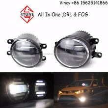 Toyota spare parts auto fog lamps 12v car accessories Toyota fog lamp Land Cruiser Lexus led car fog lamp DRL