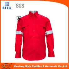 100% cotton orange fireproof flying coverall for pilot
