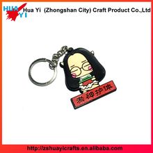 New Design PVC Custom Keychain for American - HuaYi Crafts factory