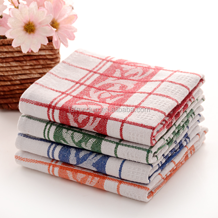Textile Cheap Cotton Linen Tea Towel