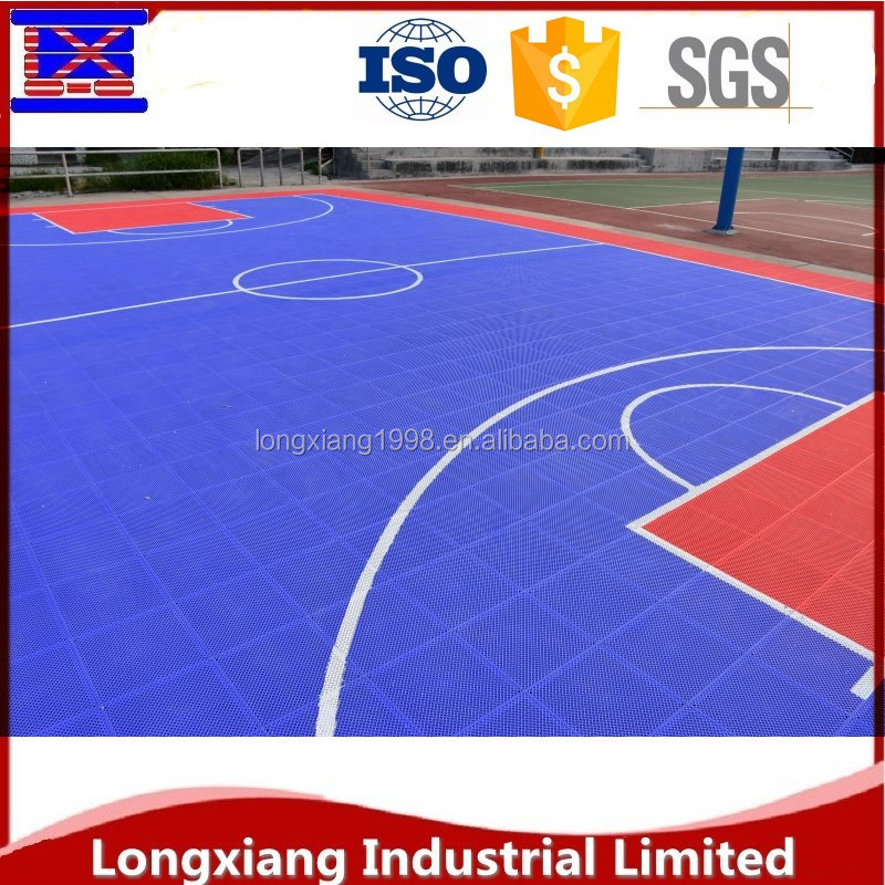 High Quality PP portable basketball / tennis court sports flooring