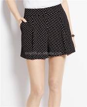 Fashion Dots Print Design Casual Wear Girls Shorts