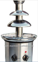 hot sale commercial mini chocolate fountain machine