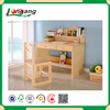 eco-friendly solid wood KD student desk,children's furniture study table set