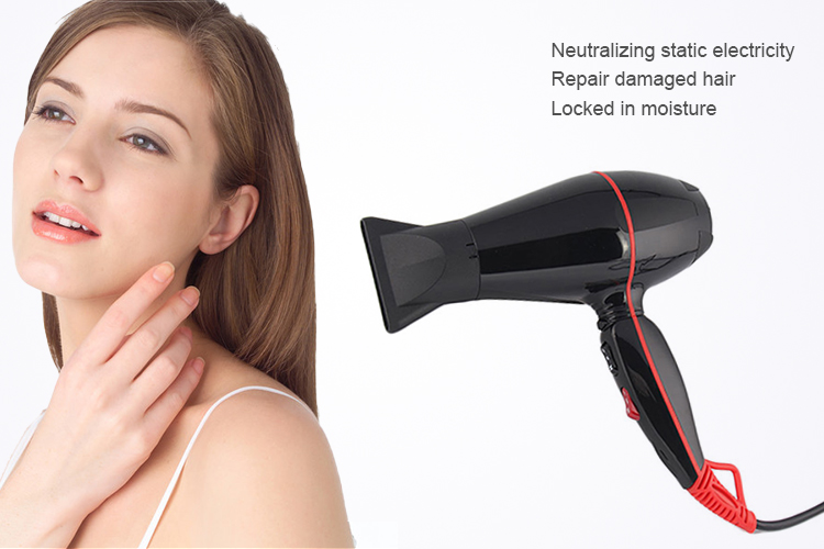 Electric long life brushless hair dryer motor hair dryer professional