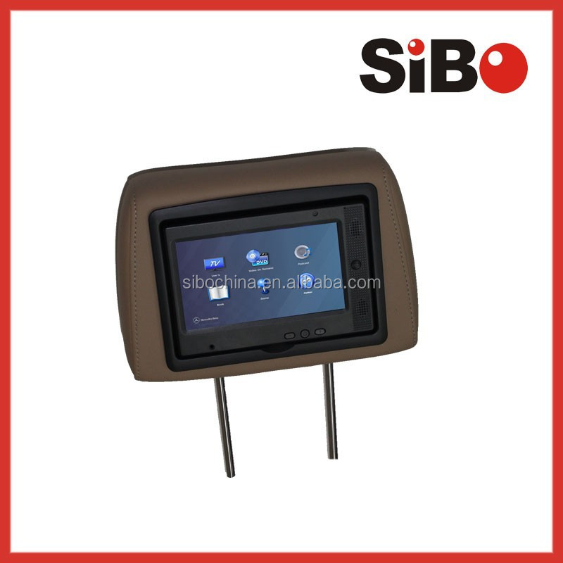7inch Android Bus Touch Screen with Wifi,3G,RJ45,POE 24V