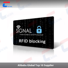 Latest Credit Card Safe RFID Block Security Blocking Card/Holder/Case/Protector