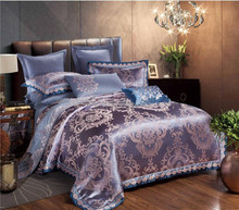 2016 Hot New Product Luxury Jacquard Embroidery Bedding Set and Comforter Set China Textile