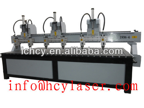 cnc router with rotation axis