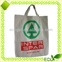 wholesale 2016 customized reusable cotton tote bag with logo printing