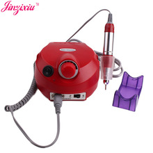 Best portable professional ABS plastic and metal rechargeable electric nail drill machine with 6 nail drill bits