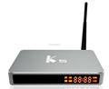 Pefect Metal case high speed K5 android tv box Amlogic S905 Quad core 2GB 16 GB Kodi 16.1 WIFI 2.4G+5G 1000